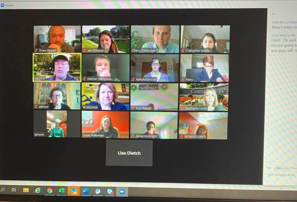 college admissions videoconference
